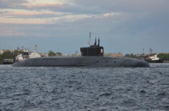 Пуск МБР «Булава» с борта подводной лодки K-549 «Князь Владимир»