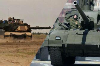 """По тактико-техническим параметрам танк Т-14 """"Армата"""" превосходит M1A """"Abrams"""""""