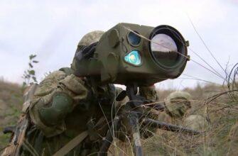 Оптико-электронный комплекс разведки Ирония-М в Сирии и на учениях Центр-2019