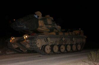 Турция нанесла первые удары по курдам в Сирии