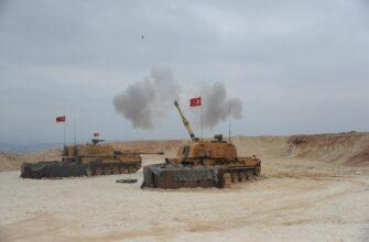 Турецкая военная операция в Рожаве. Ночь