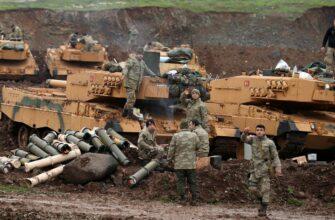 Бронетехника Турции в «Источнике мира»