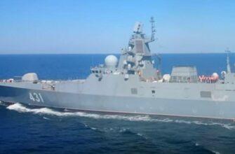 """На Северном флоте начались госиспытания фрегата """"Адмирал Касатонов"""""""