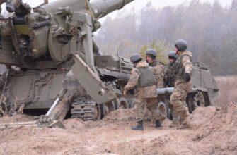 На Украине заявили о боевом задании гаубичной артбатареи Нацгвардии на Донбассе