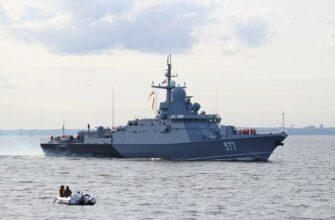"МРК ""Советск"" проекта 22800 Каракурт вошёл в состав Балтийского флота"