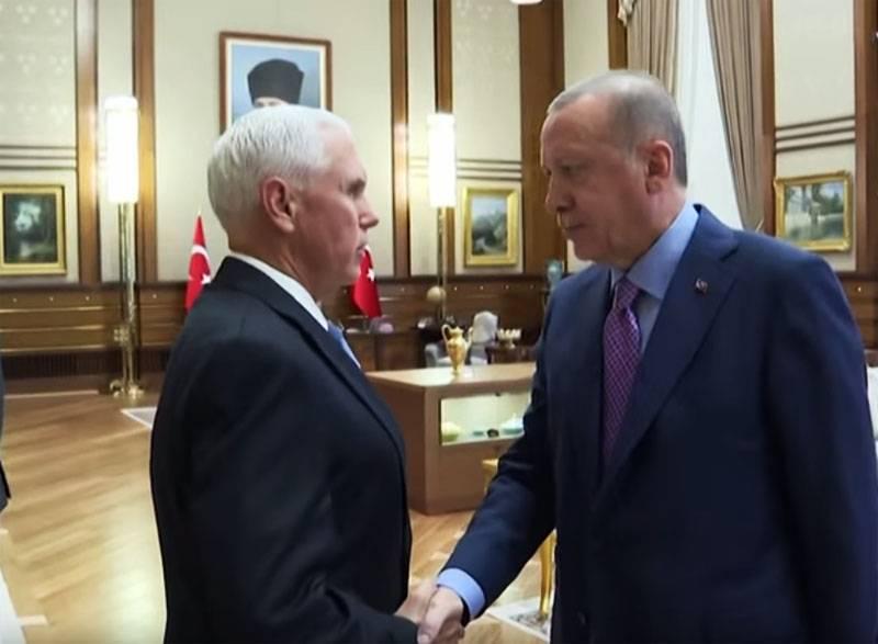 Сделка по Сирии Эрдогана-Пенса
