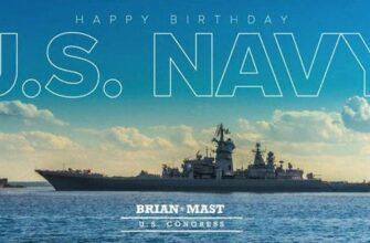 """Американский конгрессмен поздравил ВМС США открыткой с фото крейсера """"Пётр Великий"""""""