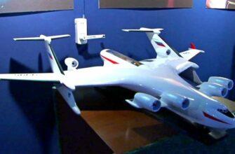 В России разработают самолет-амфибию со взлетной массой в 1000 тонн