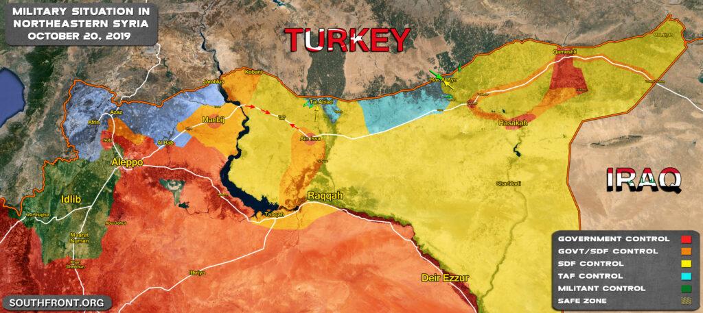 Сводки из Сирии. Курды сдали Рас-аль-Айн