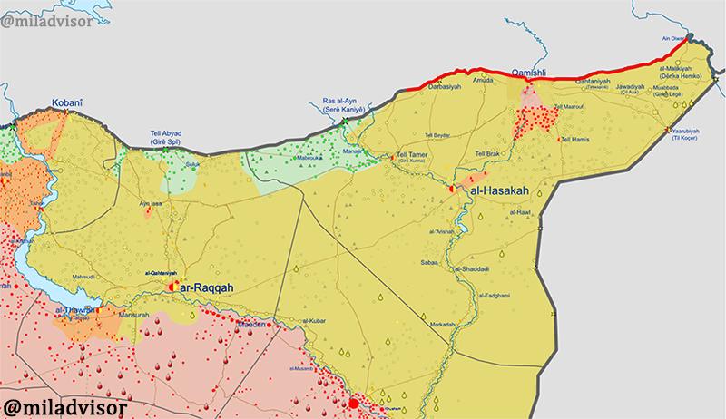 Сводки из Сирии на 22.10.2019