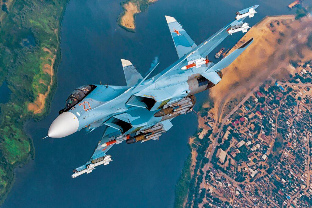 Модернизированные истребители Су-30СМ получат новую тяжелую ракету