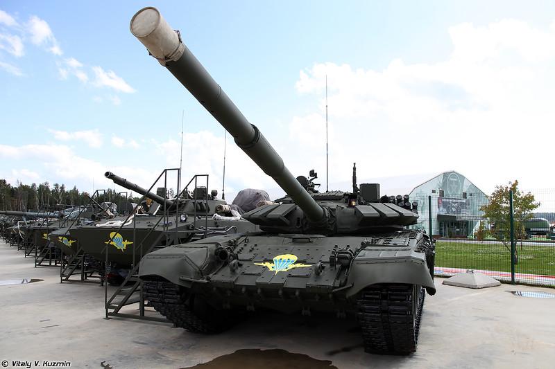 """Американские СМИ оценили танки Т-72Б3 с АСУ """"Андромеда"""" на вооружении ВДВ России"""