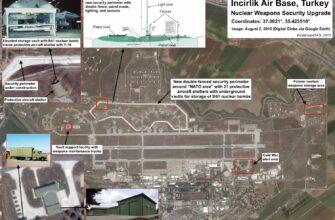 США собираются вывезти из Турции свои ядерные заряды