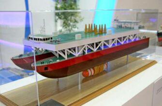 В России построят универсальное судно для подъема затонувших подлодок