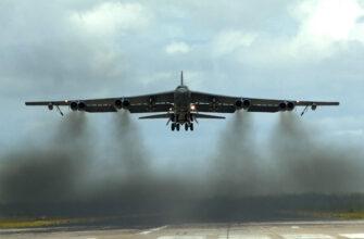 В-52Н ВВС США отработал имитационную атаку на Крым