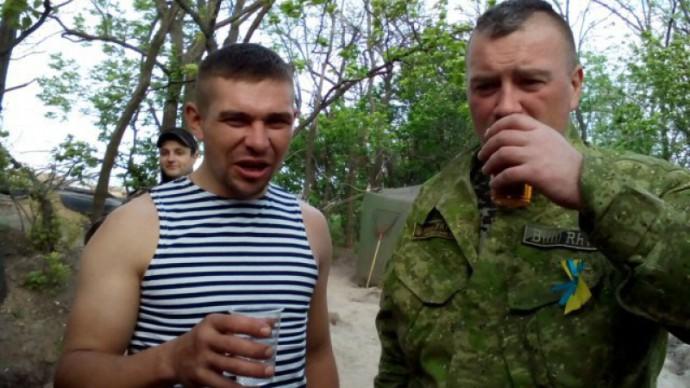 Инструктаж о случаях гибели военных ВСУ от употребления спиртного и наркотиков