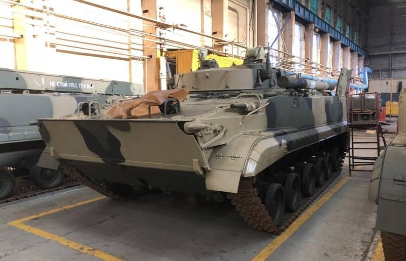 Минобороны выдало новый контракт на производство БМП-3