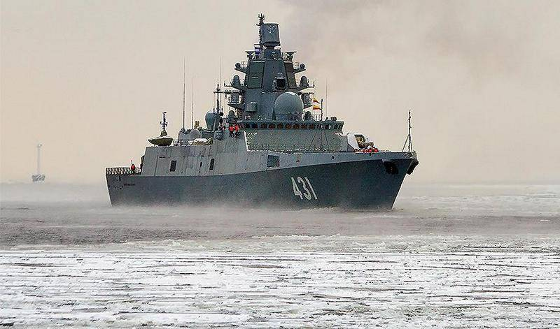 """Фрегат """"Адмирал Касатонов"""" выполнил пуски КР """"Калибр"""" и """"Оникс"""""""