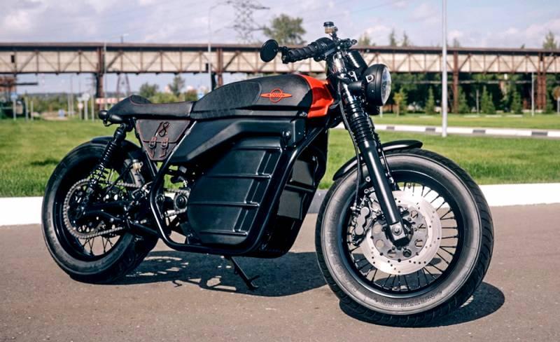 Легендарный мотоцикл «Иж» получил электрическую версию