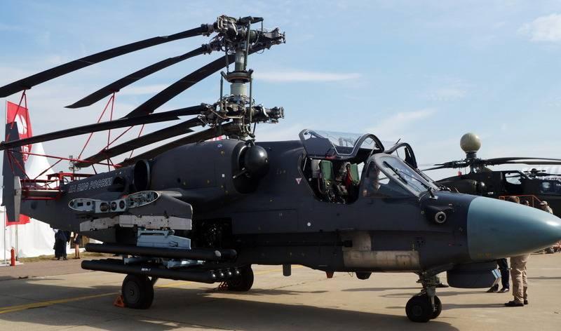 """Испытания корабельного Ка-52К """"Катран"""" продолжат после определения носителя"""