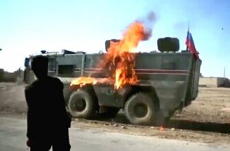 """Курды забросали российский патруль """"коктейлями Молотова"""""""
