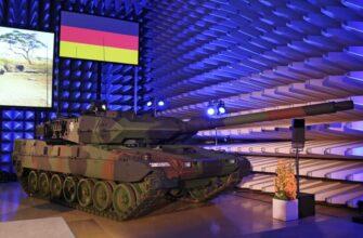Обновленные танки Бундесвера - Leopard 2A7V