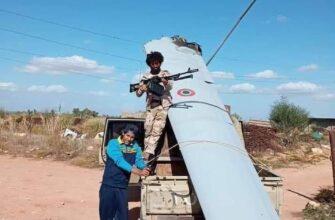 Под Триполи сбит итальянский БПЛА MQ-9 Reaper