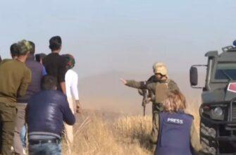 Камни курдов начали лететь избирательно только в турецкие бронемашины