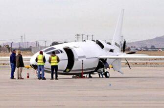 Американский секретный «самолет-пуля» впервые поднялся в воздух