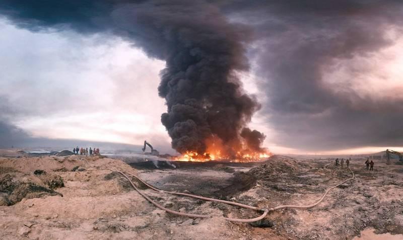 Неизвестные самолеты нанесли удар по проамериканским нефтяным предприятиям в Сирии