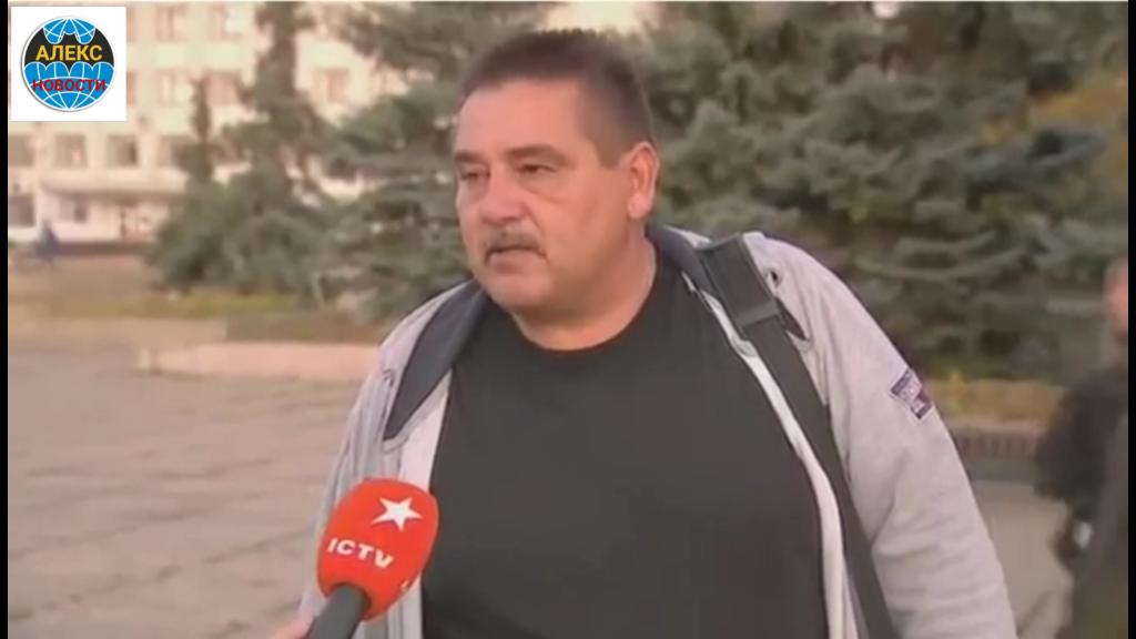 Житель Рубежного заткнул украинских фейкометов из ICTV