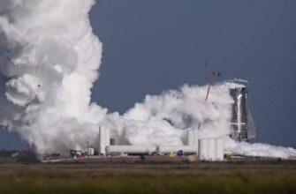 Корабль Илона Маска Starship Mk1 компании SpaceX взорвался в ходе испытаний