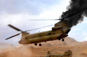 """США в Афганистане потеряли вертолёт """"Chinook"""" и двоих военнослужащих"""
