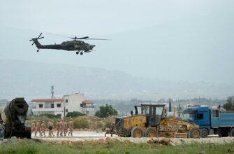 Видео от военкоров Anna News - воздушное патрулирование сирийско-турецкой границы