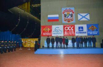 Первую серийную АПЛ проекта «Ясень-М» «Новосибирск» спустили на воду