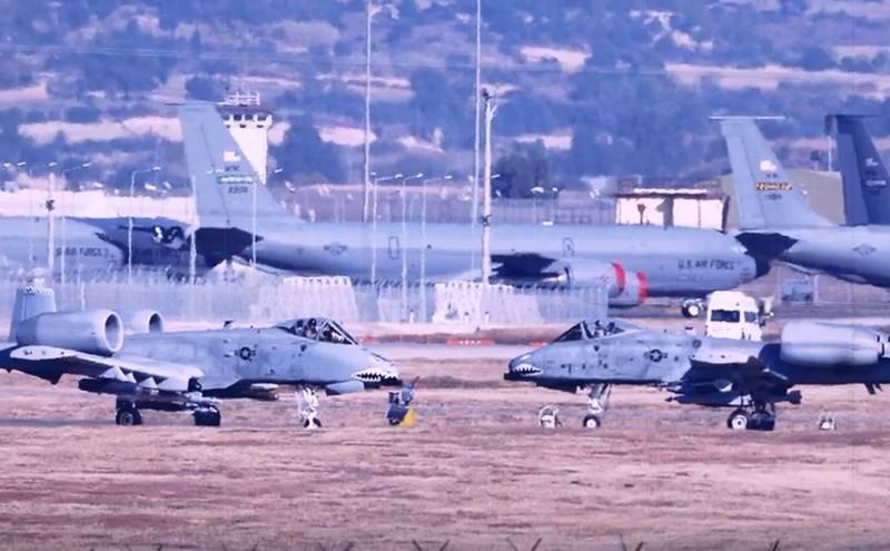Турция пригрозила закрытием авиабазы Инджирлик для американских военных