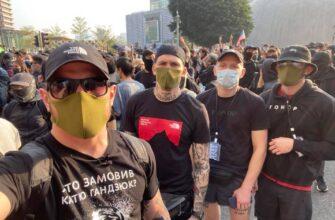Кто не скачет, тот китаец. Нацисты батальона Азов на протестах в Гонконге