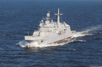 Первый серийный БДК проекта 11711 «Петр Моргунов» вышел на испытания