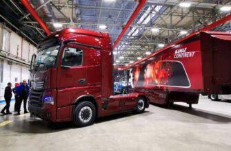 «КАМАЗ» представил прототип тягача, аналогов которому нет в мире