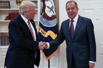 Лавров после встречи с Трампом: «Северный поток-2» не остановится