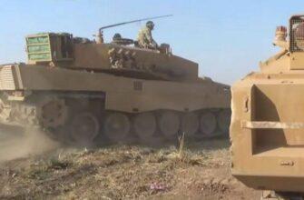 """У протурецких боевиков в Идлибе появились танки """"Леопард 2"""""""