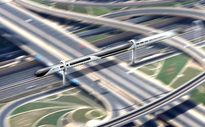 Представлен межконтинентальный прототип маглева, который заменит самолеты
