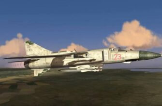 """Уничтожение МиГ-23 с ПЗРК """"Стрела-2"""" в Ливии"""