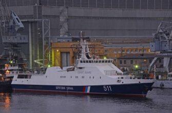 В Санкт-Петербурге спустили на воду ПСКР «Расул Гамзатов» проекта 22460
