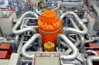 Названы сроки строительства высокомощного реактора БН-1200М