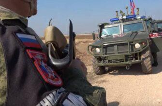 Российские военные впервые вошли в сирийскую Ракку