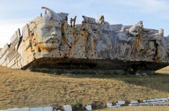 Саур-Могила. Кошмарные следы гражданской войны на Украине