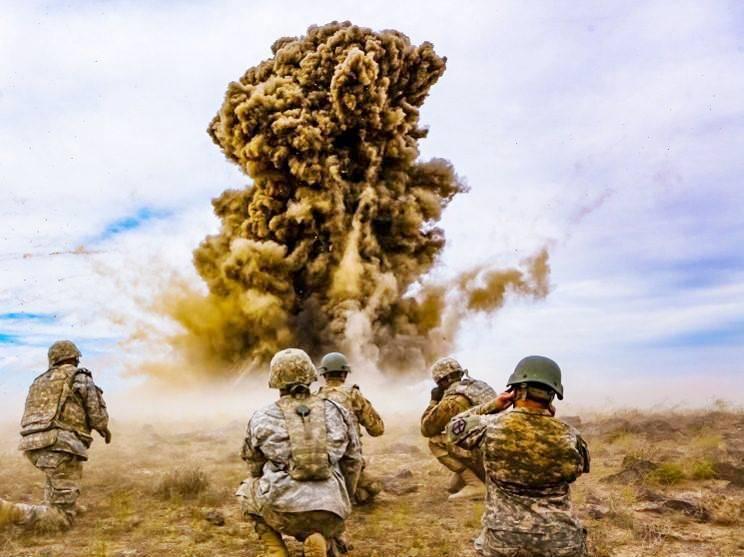 В Ираке ракеты упали на базу с американскими военными
