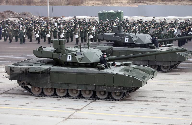 Несколько дней в танке: Русский танк «Армата» по комфорту превосходит западные машины