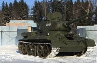 Легендарному советскому танку Т-34 исполнилось 80 лет